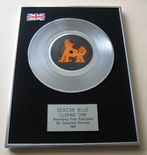 DEACON BLUE - CLOSING TIME PLATINUM Single Presentation Disc